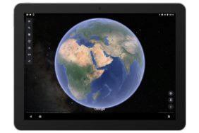 aplkace Google Earth hvězdy