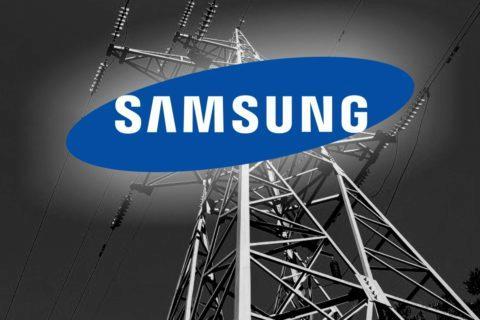 blackout v Samsung továrně