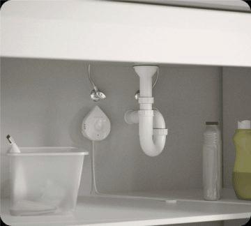 chytrý detektor vody Flo by Moen 5