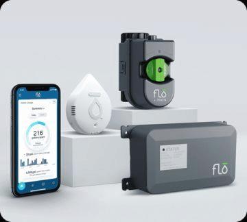 chytrý detektor vody Flo by Moen 7