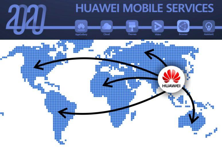 dostupnost Huawei Mobile Services