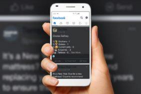 facebook tmavý režim Android