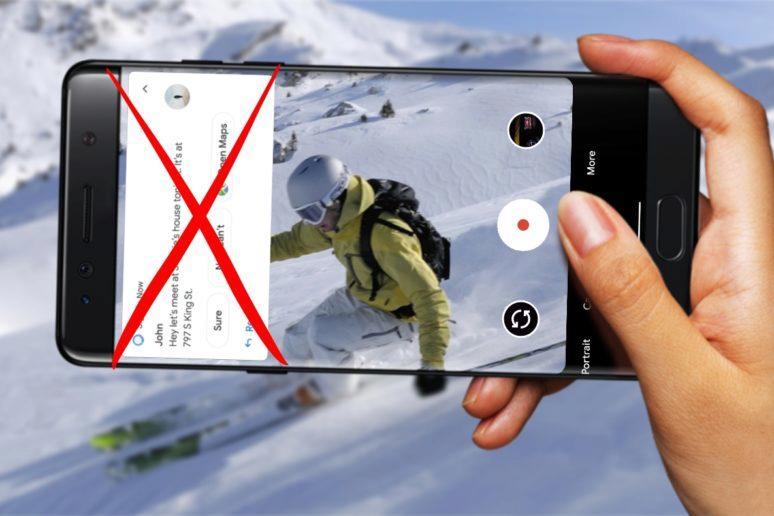 fotoaparát google nerušit