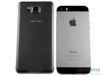 galaxy alpha iphone