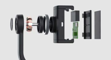 gimbal stabilizátor Xiaomi Yuemi konstrukce