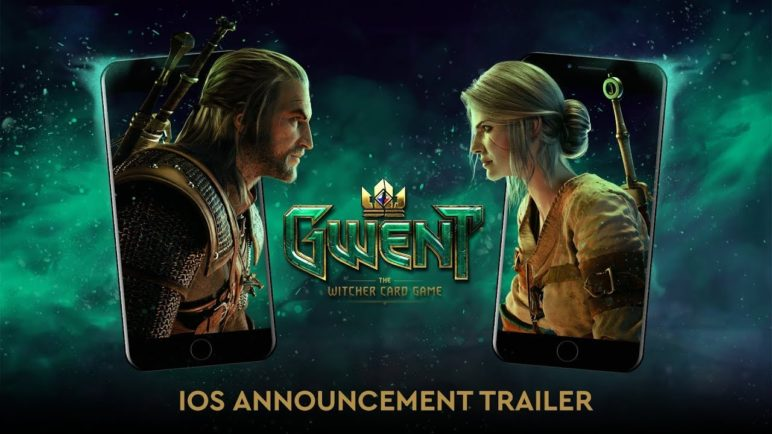 GWENT: The Witcher Card Game | iOS Announcement Trailer