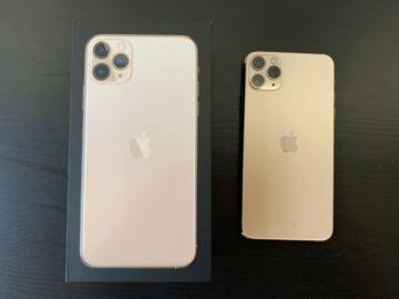 iphone 11 pro max krabička