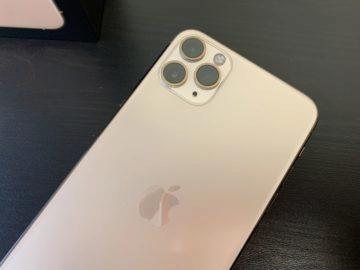iphone pro max zadní strana