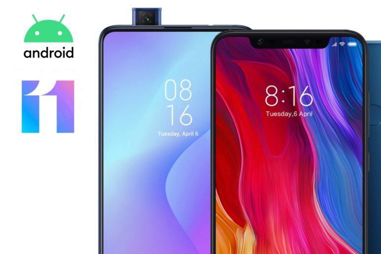 MIUI 11 Xiaomi Mi 9T Mi 8