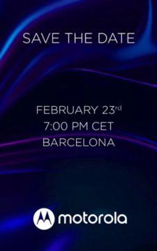 Motorola Barcelona event