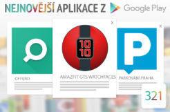 Nejnovější aplikace z Google Play #321: ciferníky pro Amazfit GTS