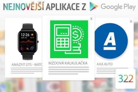 Nejnovější aplikace z Google Play #322: spočítejte si čistou mzdu