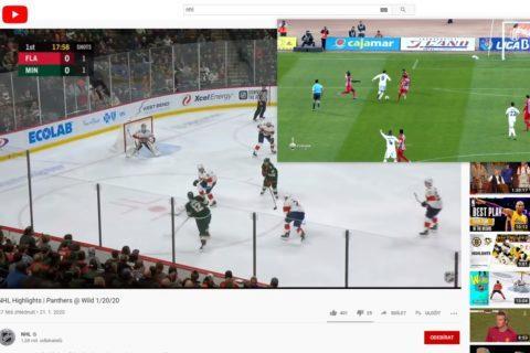 obraz v obraze Chrome návod