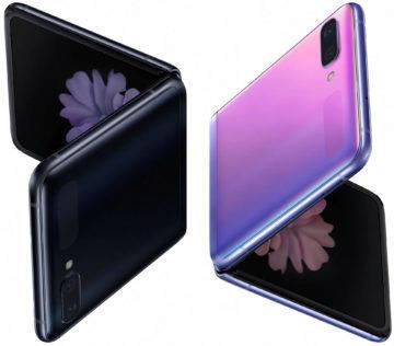 ohebny telefon samsung galaxy z flip