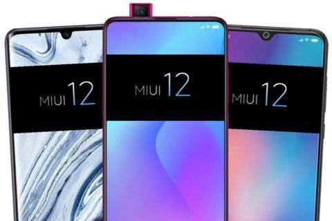 oznámení Xiaomi MIUI 12