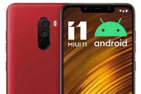 Pocophone F1 MIUI 11 Android 10
