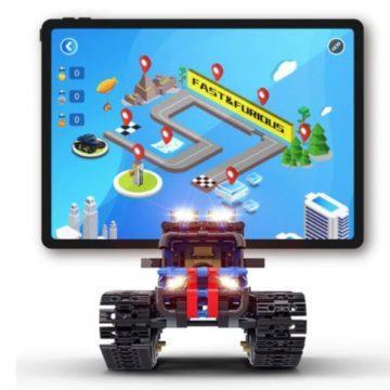 Programovatelné autíčko na Android a iOS