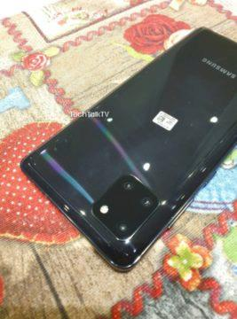 reálné fotky Galaxy Note10 Lite 2