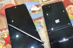 reálné fotky Galaxy Note10 Lite