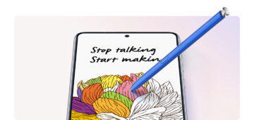 Samsung Galaxy Note10 Lite [SM-N770] 03. S-pen Writing and drawing_2
