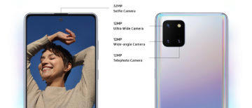 Samsung Galaxy Note10 Lite [SM-N770] 13. Multi-camera system