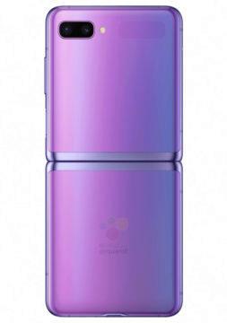 Samsung Galaxy Z Flip zadni strana fotoaparat displej