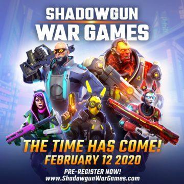 Shadowgun War Games vydání plakat