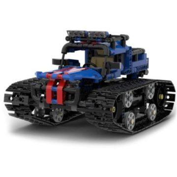Skládačka auto tank na ovládání