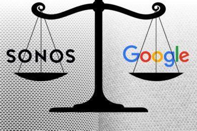 Sonos žaluje Google