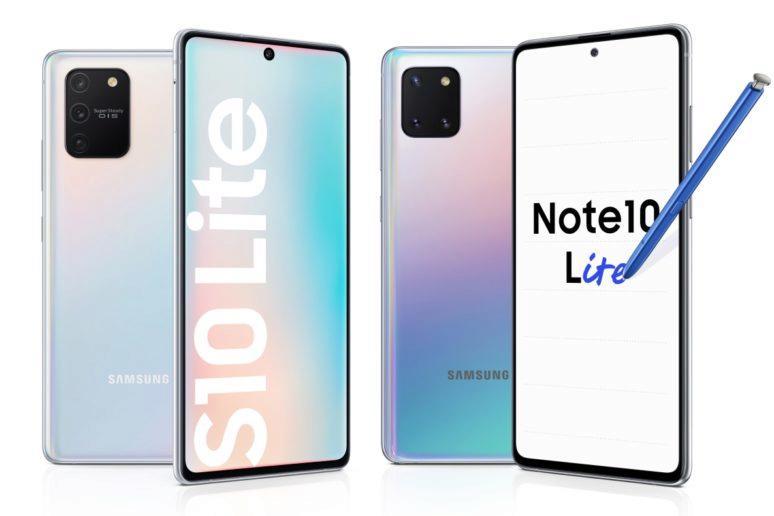 specifikace Galaxy S10 Lite a Note10 Lite