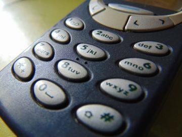 Staré telefony měly omezené možnosti