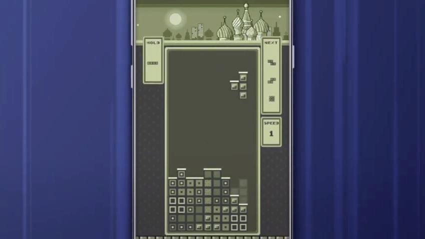 Tetris Royale retro style