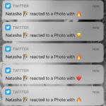 Twitter reakce zprávy emotikony notifikace
