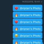 Twitter reakce zprávy emotikony notifikace 2