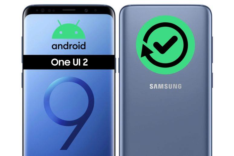 update Android 10 Samsung Galaxy S9