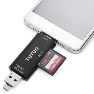USB-C čtečka karet