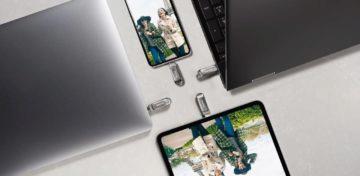USB-C USB-A Sandisk 1 TB flash disk nahled 3