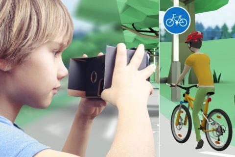 VR cyklista