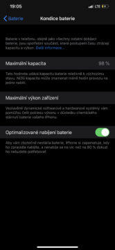 výdrž baterie iphone 11 pro max