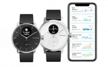 withings hybridni hodinky