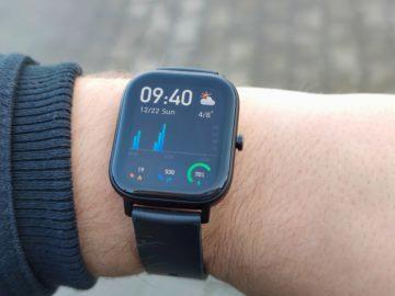 Xiaomi Amazfit GTS displej