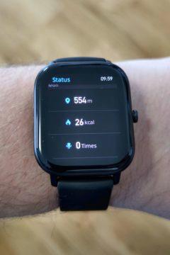Xiaomi Amazfit GTS aktivita