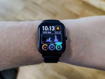 Xiaomi Amazfit GTS úprava ciferníku
