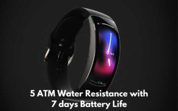 Xiaomi Huami Amazfit X tlak a baterie