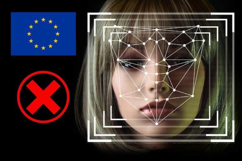 zákaz rozpoznávání obličejů Evropa