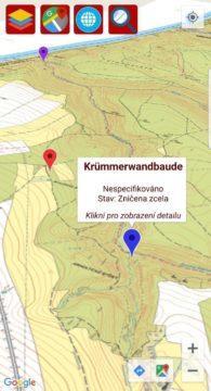 Zaniklé obce a staré mapy