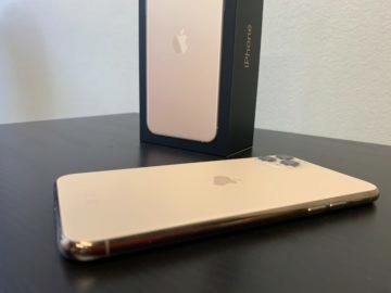 zlatý iphone 11 pro