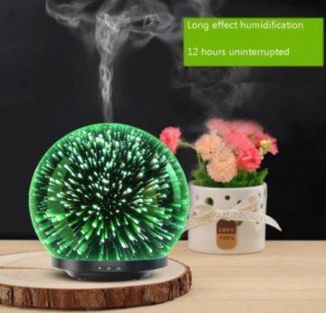 Zvlhčovač vzduchu s LED