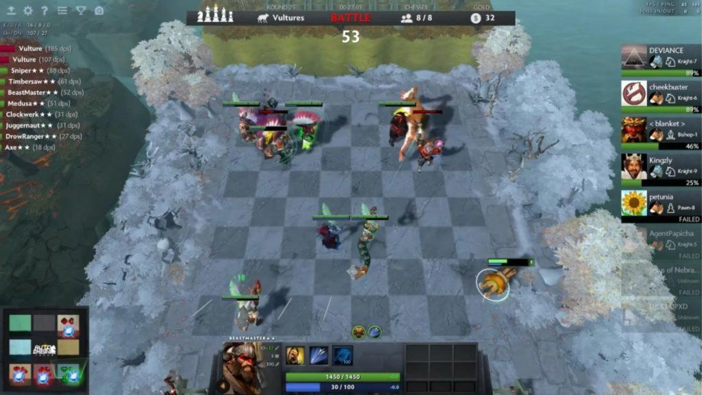 120Hz hry a aplikace Auto Chess