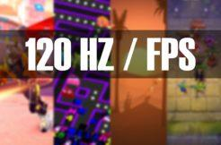 120Hz hry a aplikace seznam